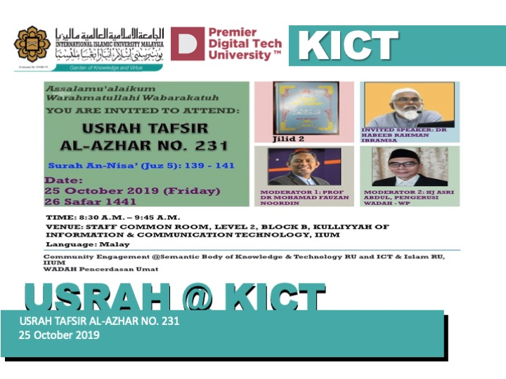 Usrah Tafsir Al-Azhar No. 231