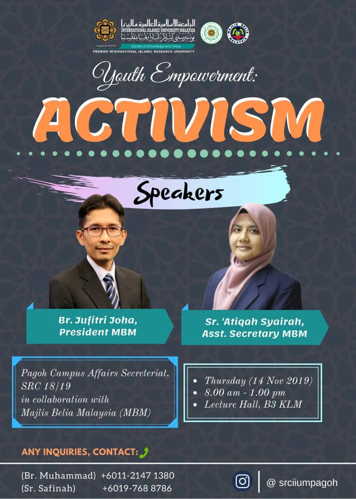 Youth Empowerment : Activism