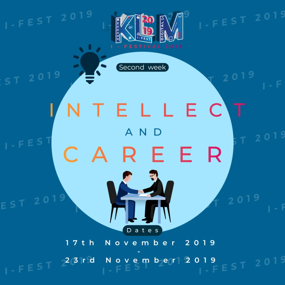 KLM I-Fest : Intellect and Career
