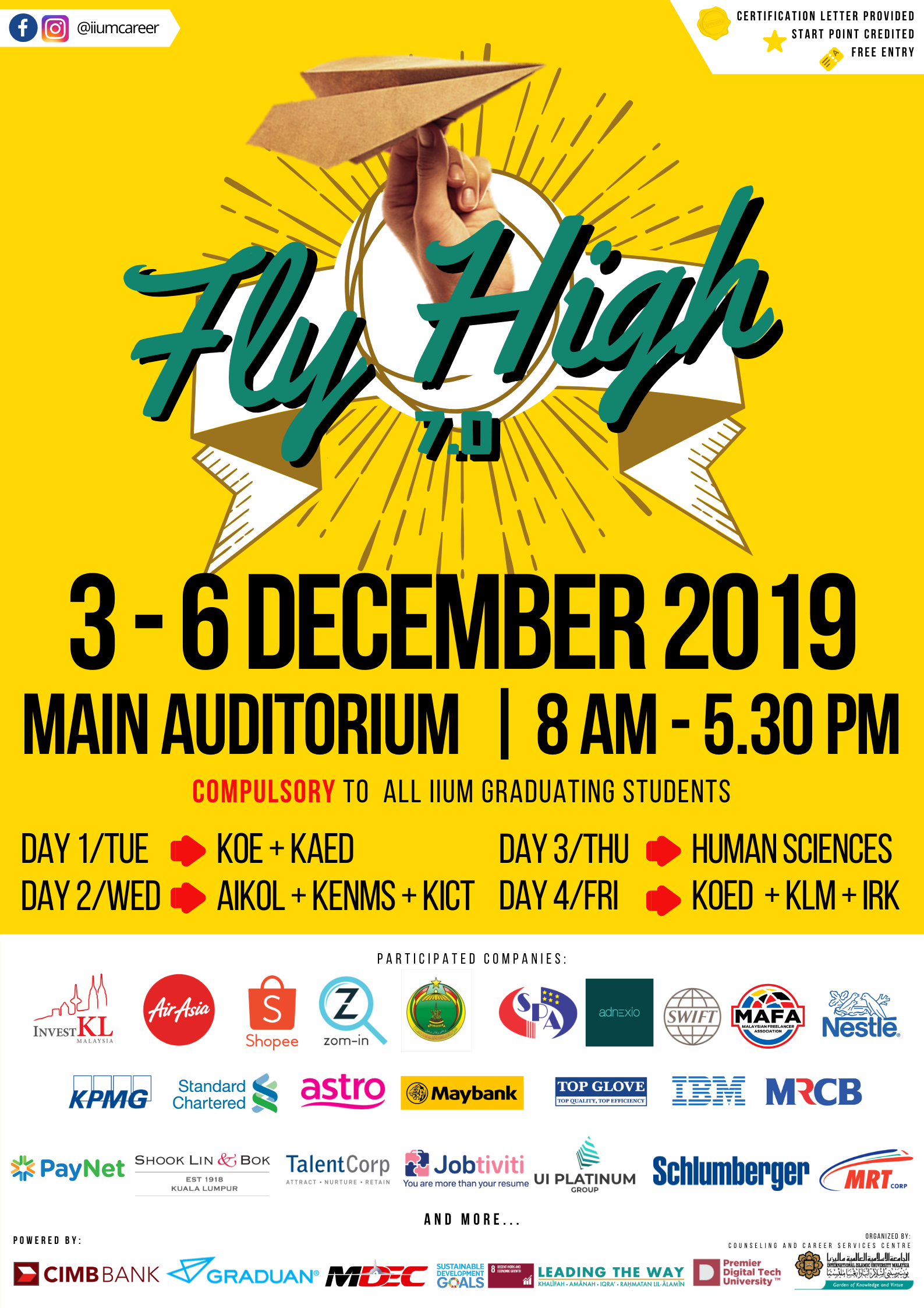 IIUM FLY HIGH 7.0