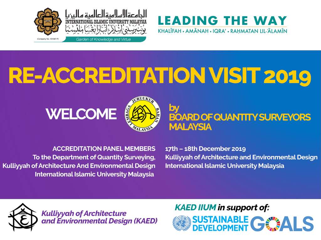 Re-Accreditation Visit 2019