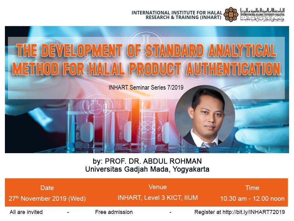 Seminar Series 7/2019