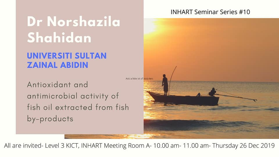 ​INHART Seminar Series 10/2019