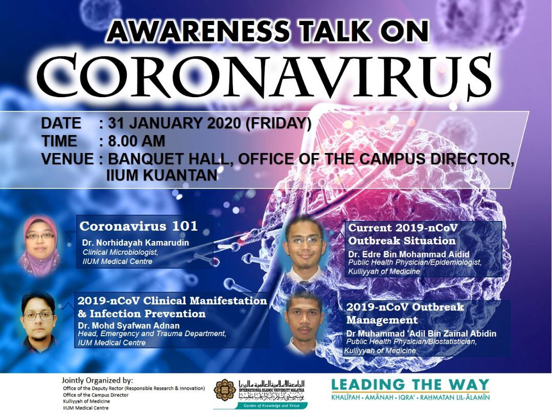 Awareness Talk on Coronovirus