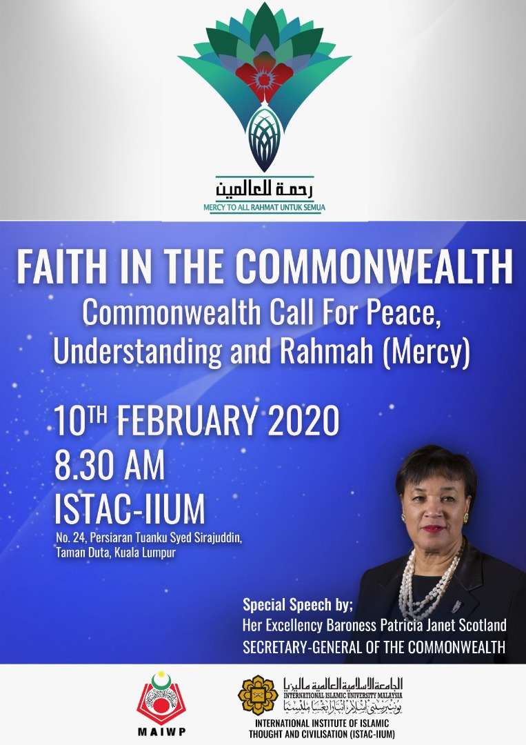 FAITH IN THE COMMONWEALTH - COMMONWEALTH CALL FOR PEACE, UNDERSTANDING AND RAHMAH (MERCY)