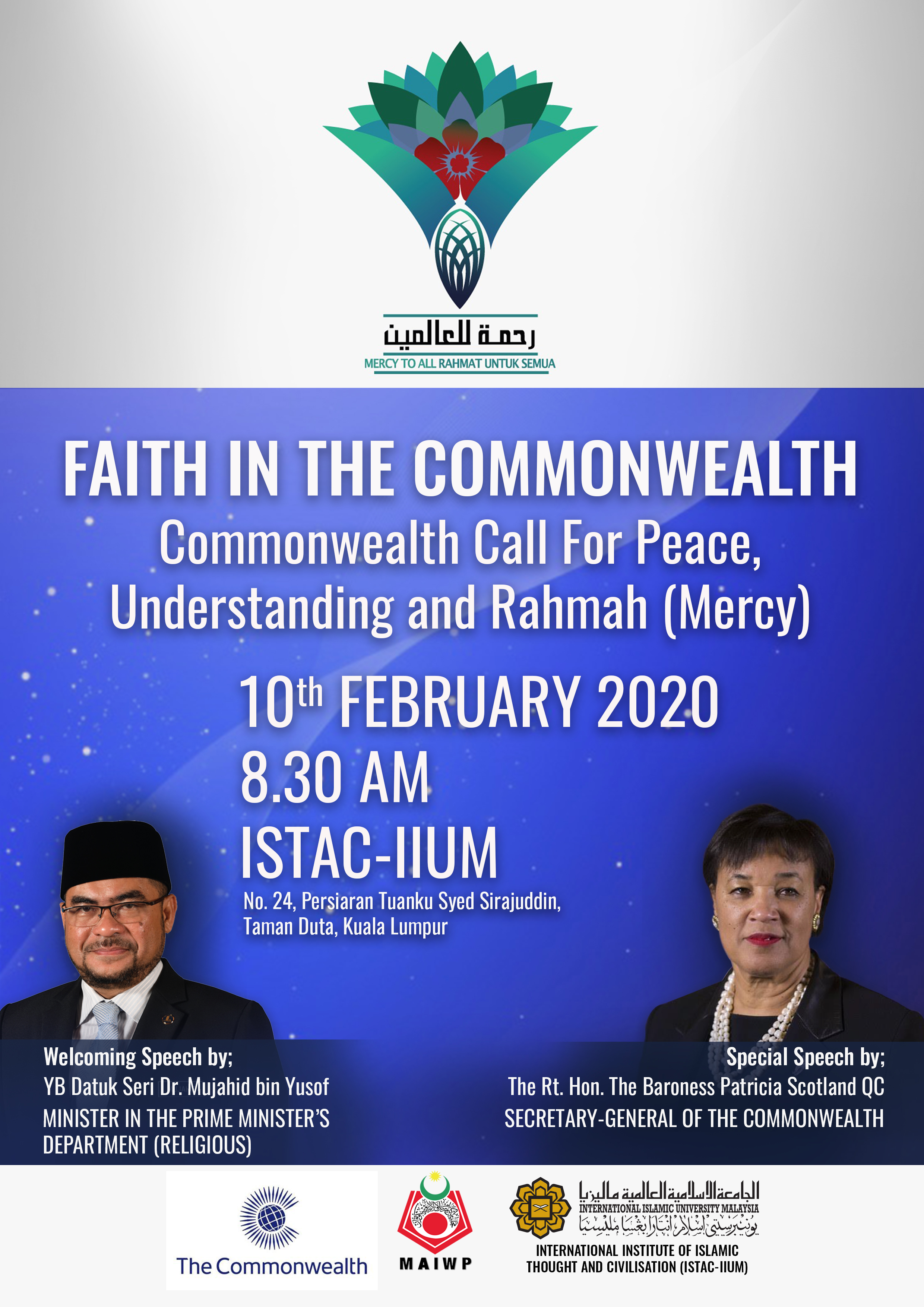 FAITH IN THE COMMONWEALTH (FORUM)
