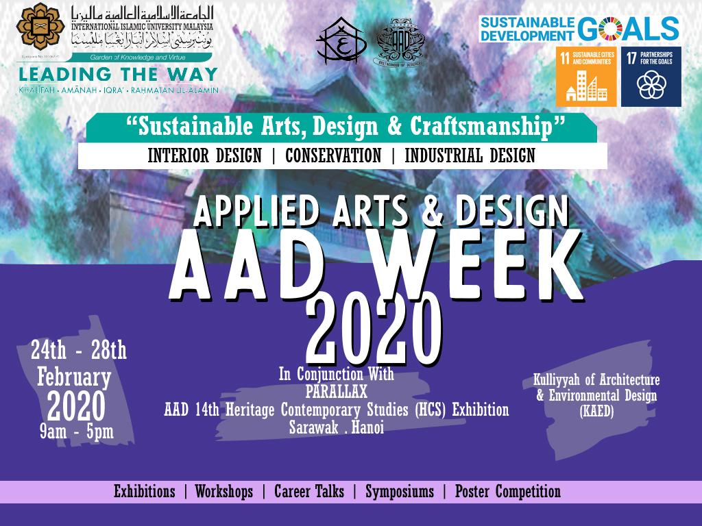 Applied Arts & Design Week 2020