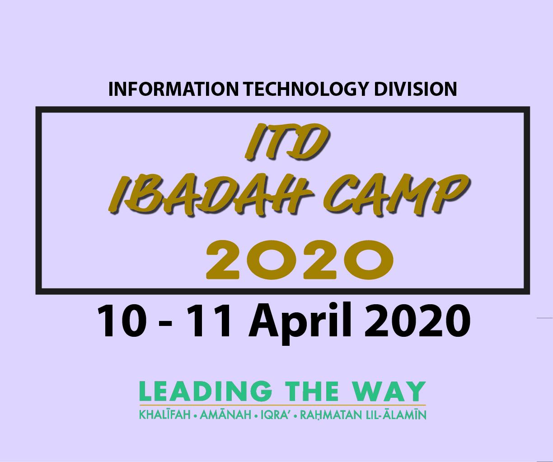 ITD Ibadah Camp 2020