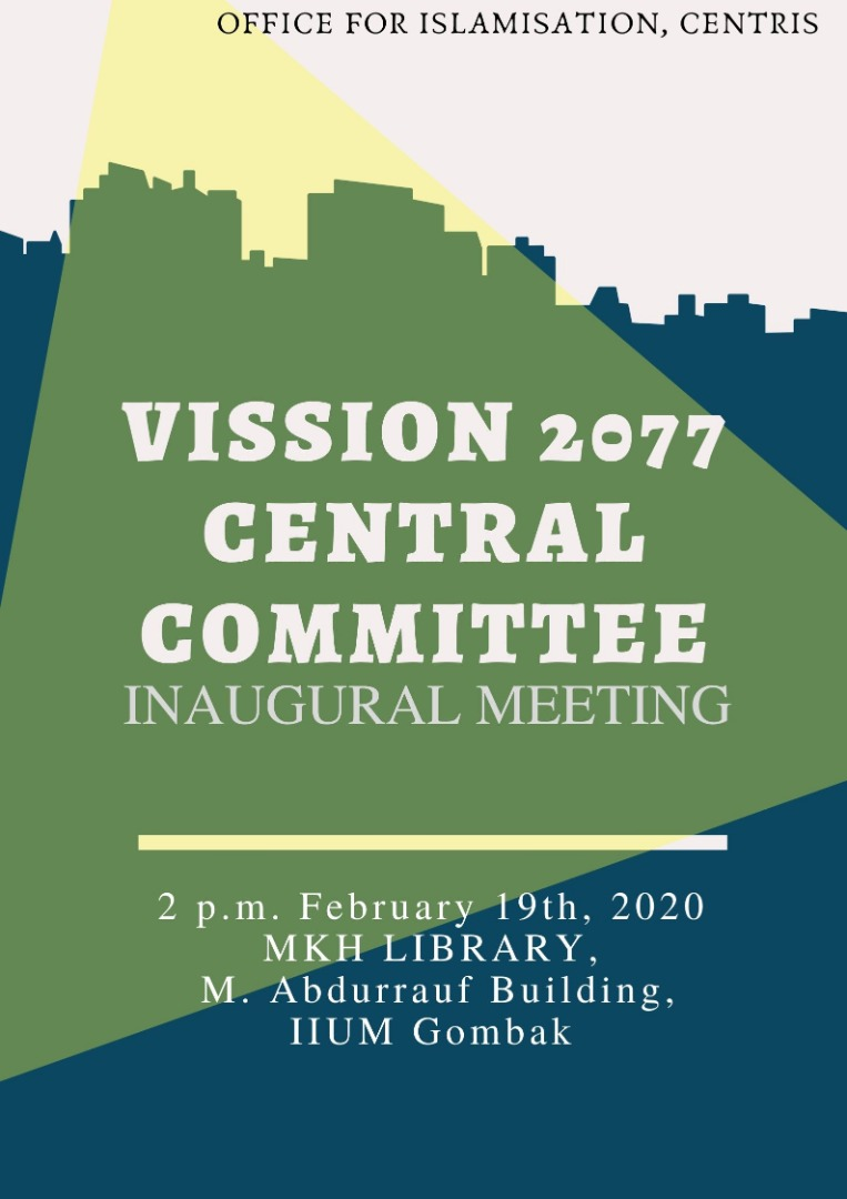 VISSION 2077 CENTRAL COMMITTEE INAUGURAL MEETING