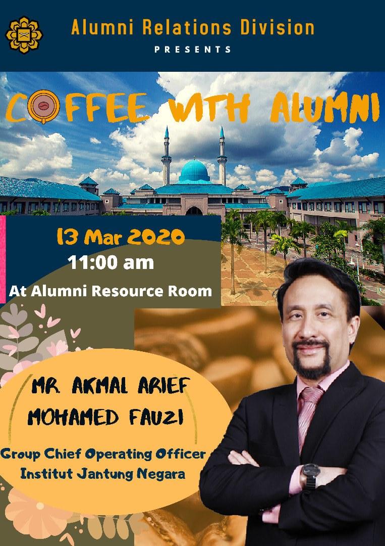 Coffee with Alumni