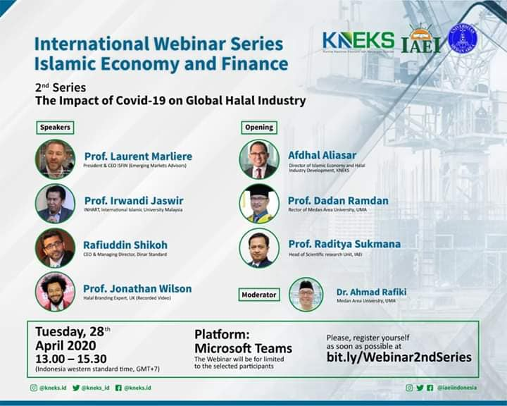 International Webinar Series : Islamic Economy and Finance