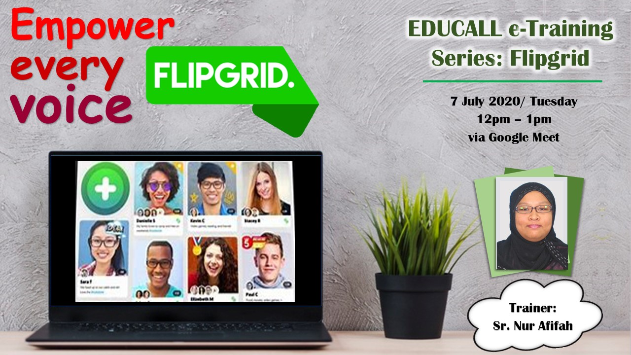 EDUCALL e-Training Series: Flipgrid