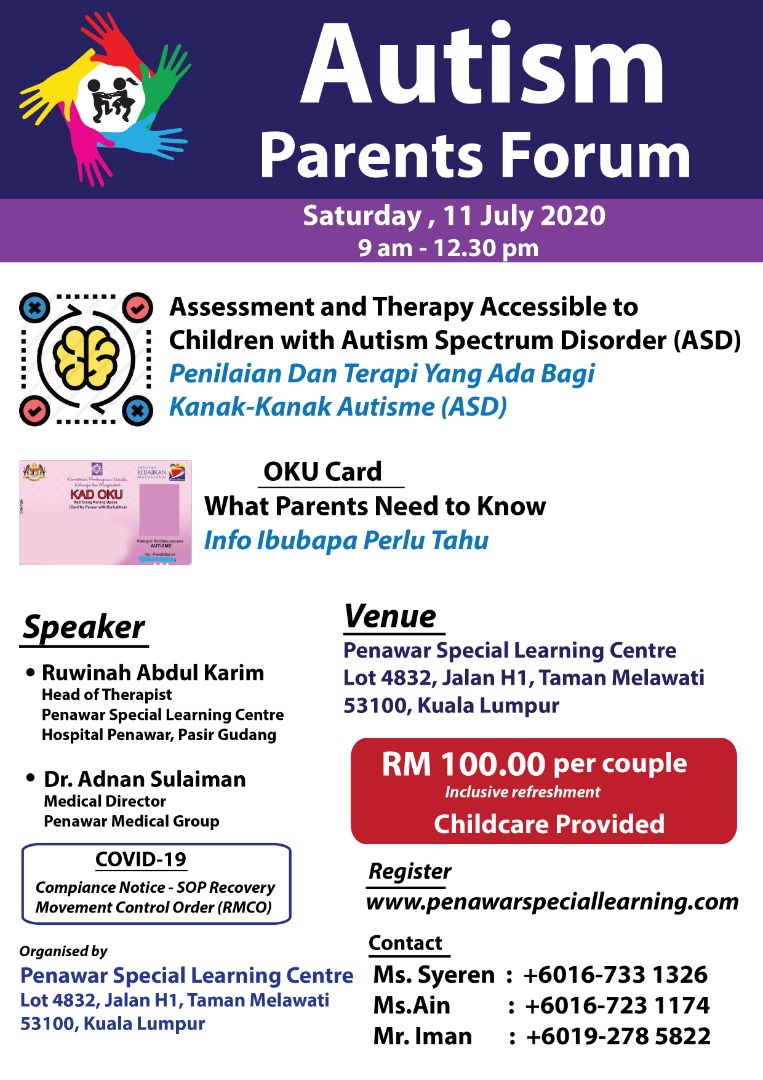 PSLC Autism Parents Forum 2020