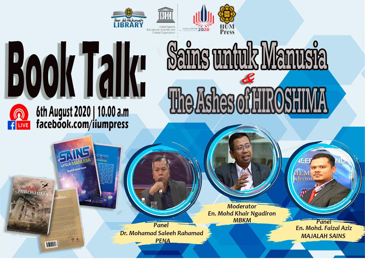 BOOK TALK: SAINS UNTUK MANUSIA & THE ASHES OF HIROSHIMA