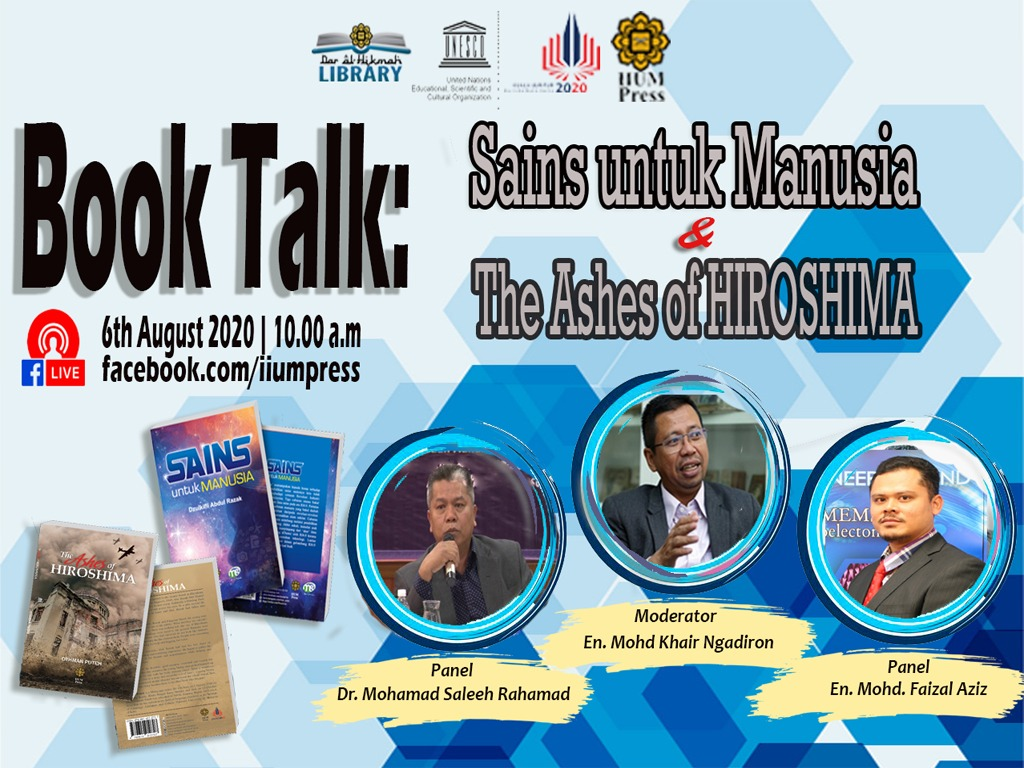 Book Talk: Sains untuk Manusia & The ashes of Hiroshima