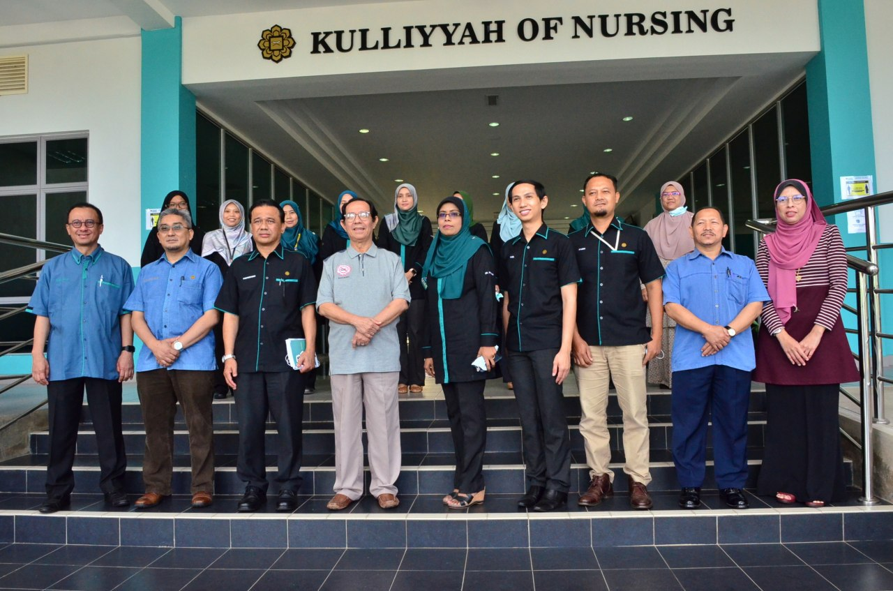 The Honorable Rector's visit to Kulliyyah of Nursing