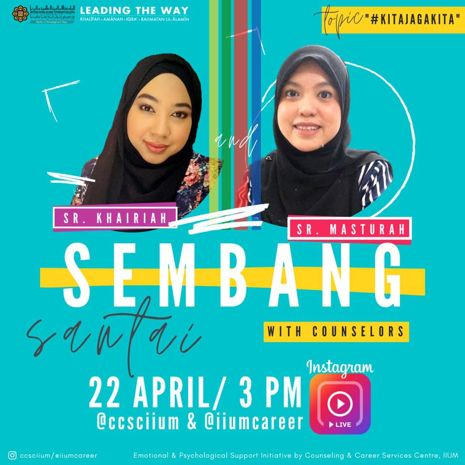 Instagram Live Session - Sembang Santai with Counselors 4