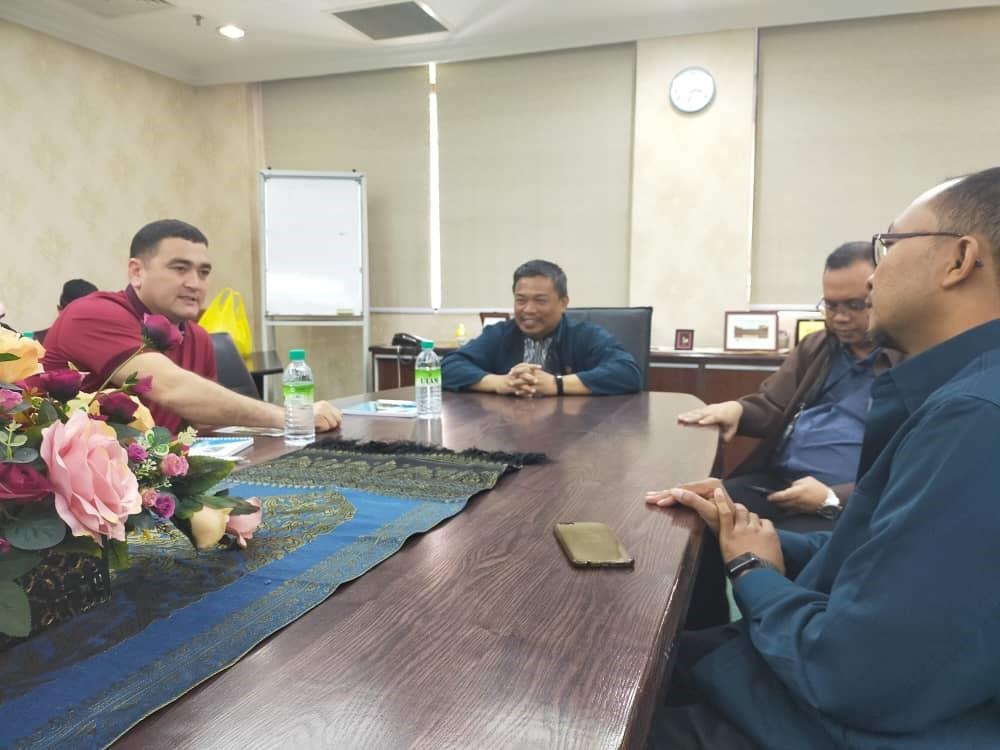 Visit from Namangan Institute of  Engineering and Technology, Uzbekistan