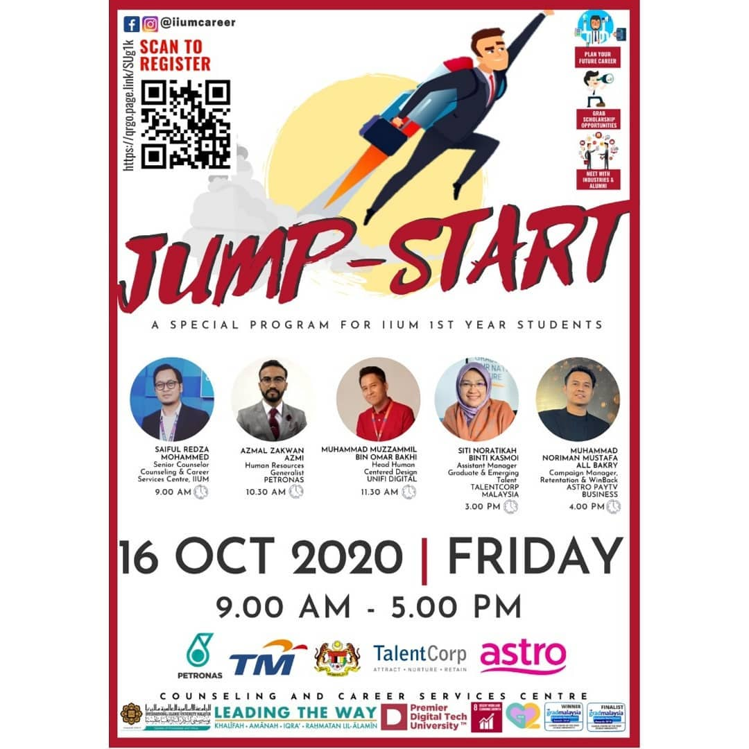 IIUM JUMP START PROGRAMME 2020