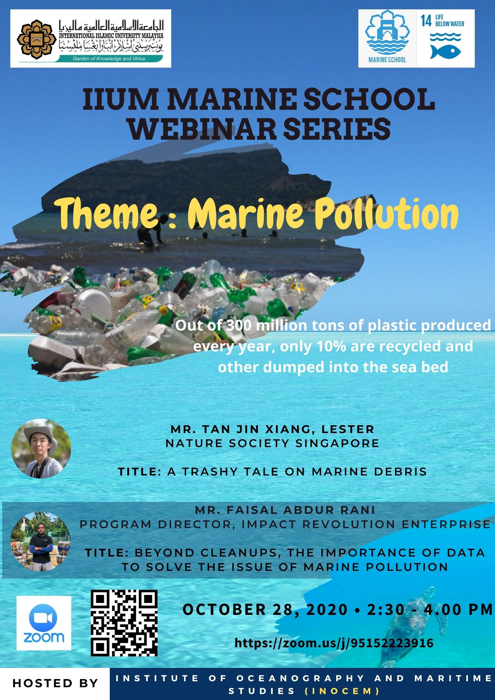 Marine Pollution INOCEM Webinar