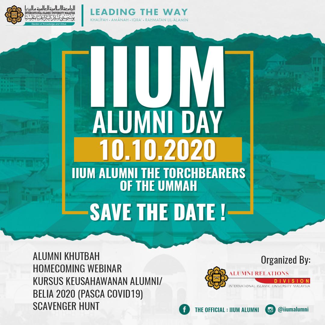 IIUM ALUMNI DAY - 10.10.2020