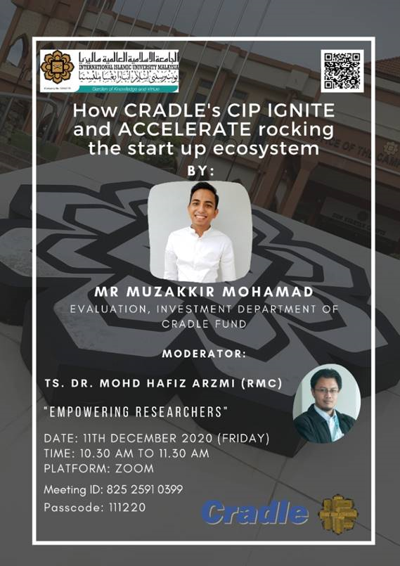 EMPOWERING RESEARCHERS: HOW CRADLE'S CIP IGNITE AND ACCELERATE ROCKING THE START UP ECOSYSTEM