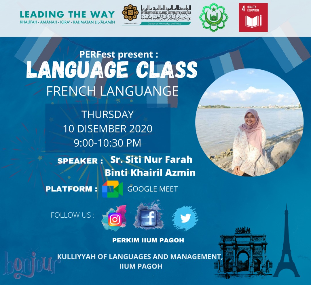 Language Class : French Language