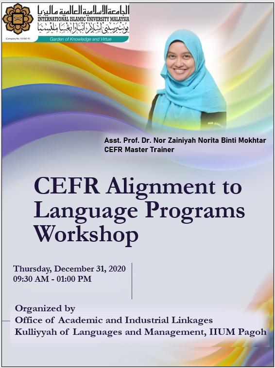 CEFR Alignment to Language Programs Workshop