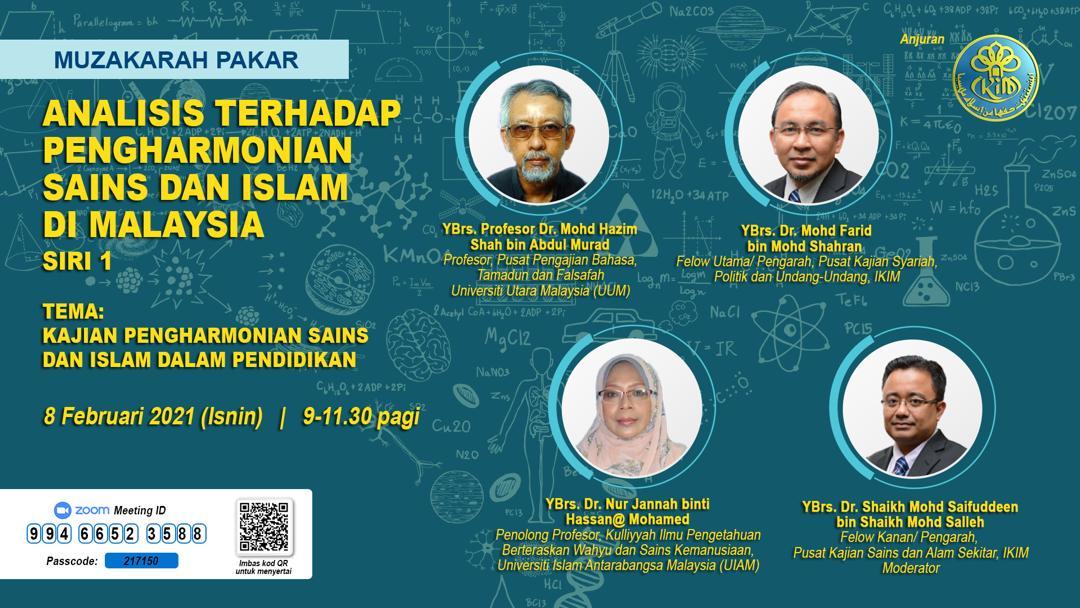 ANALISIS TERHADAP PENGHARMONIAN SAINS DAN ISLAM DI MALAYISA