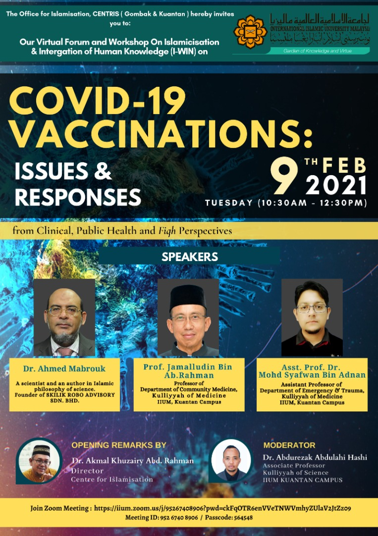 COVID-19 VACCINATIONS: ISSUES & RESPONSES