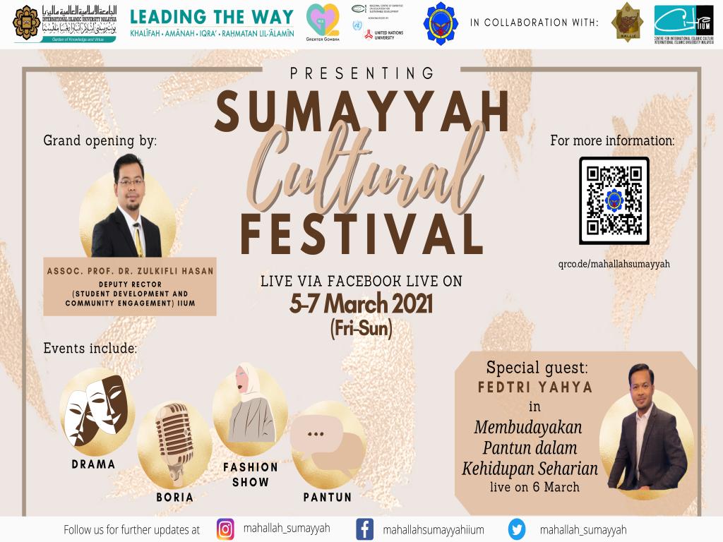 Mahallah Cultural festival