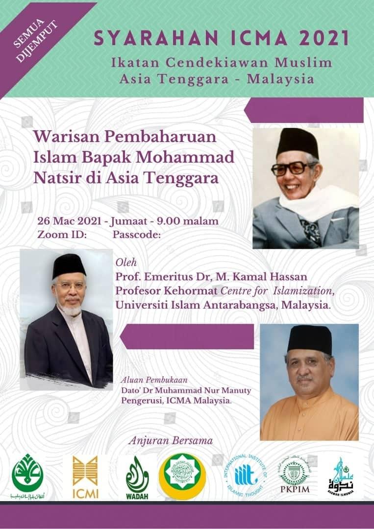 Warisan Pembahruan Islam Bapak Mohammad Natsir di Asia Tenggara