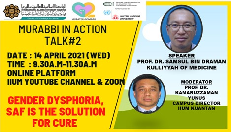 Murabbi in Action Talk: Prof. Dr. Samsul Draman