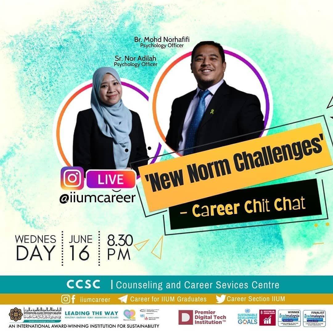 Career Chit-Chat Instagram Live@iiumcareer