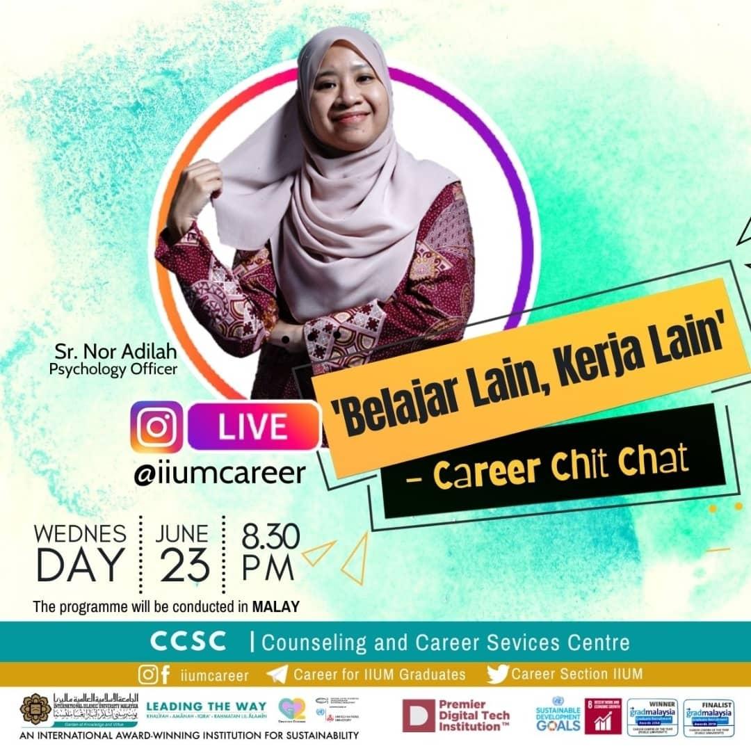 """Career Chit-Chat 4/2021: """"Belajar lLain, Kerja Lain"""""""