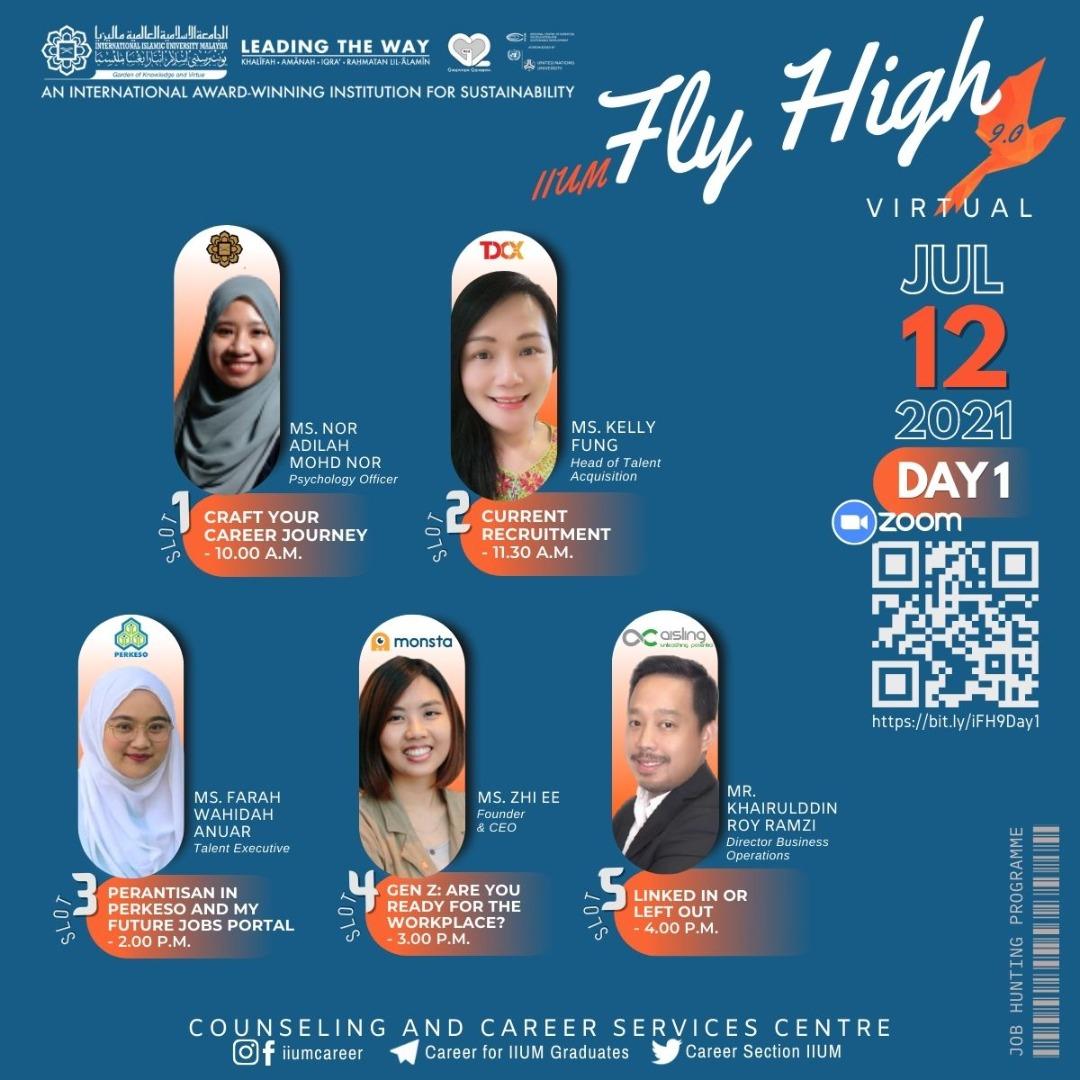 IIUM FLY HIGH 9.0