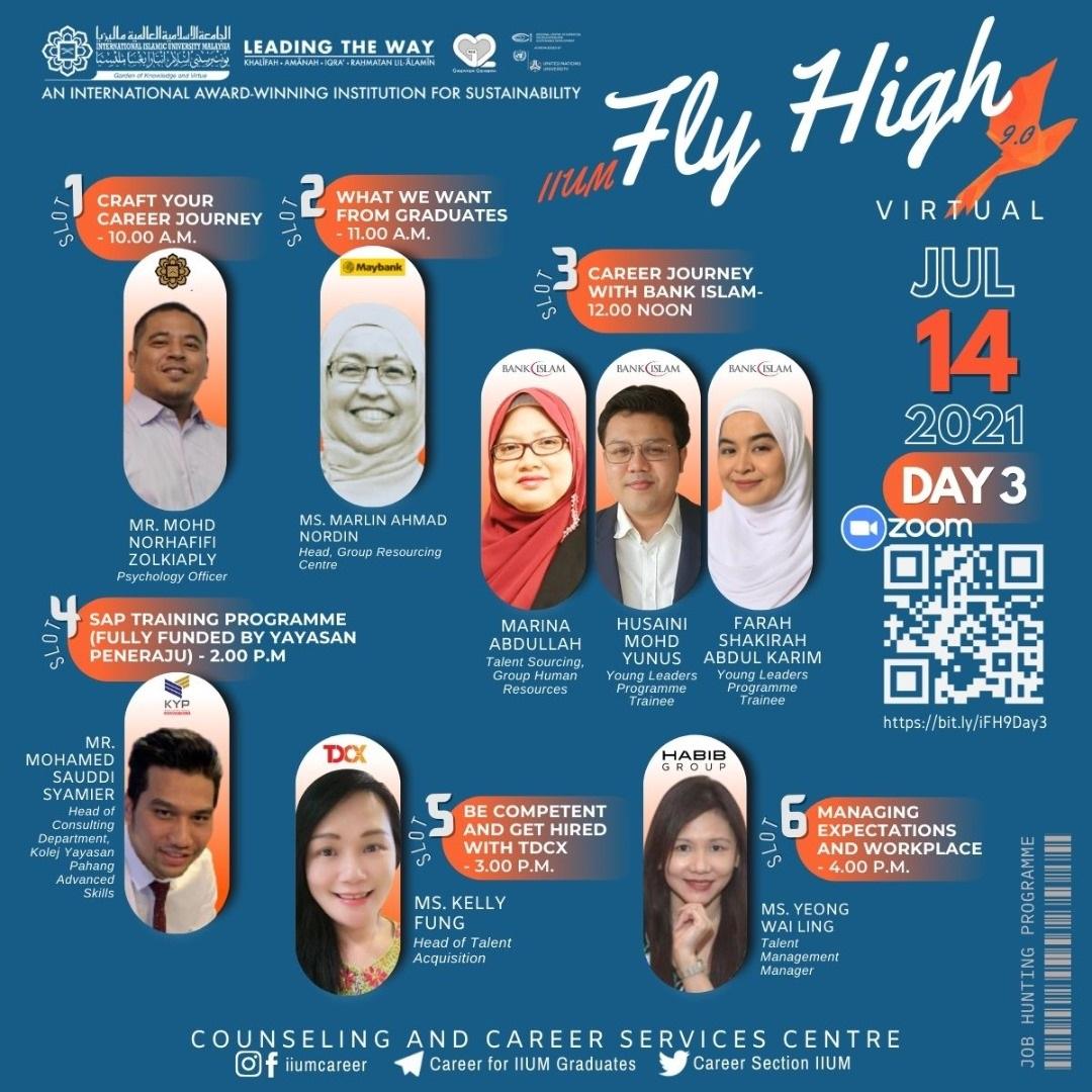 IIUM FLY HIGH 9.0 DAY 3