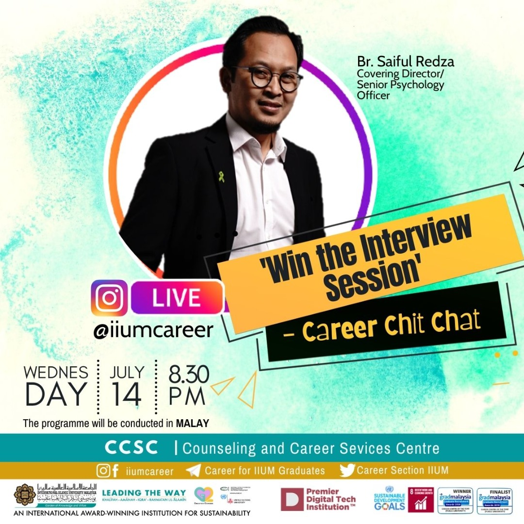 """Career Chit-Chat: """"Win the Interview Session"""""""