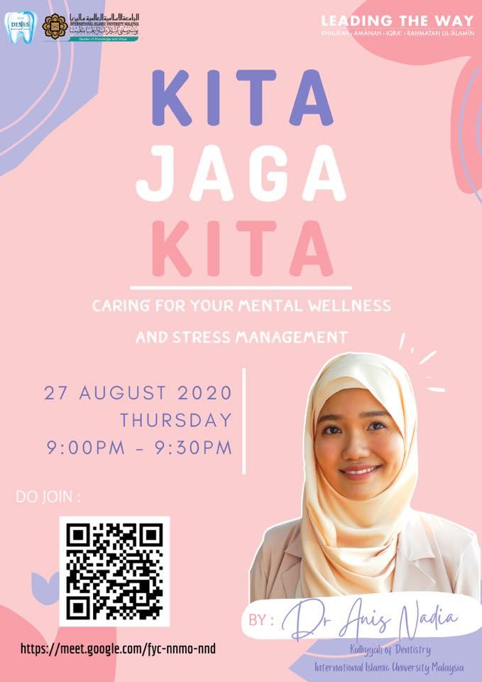 Kita Jaga Kita: Caring for your mental wellness and stress management