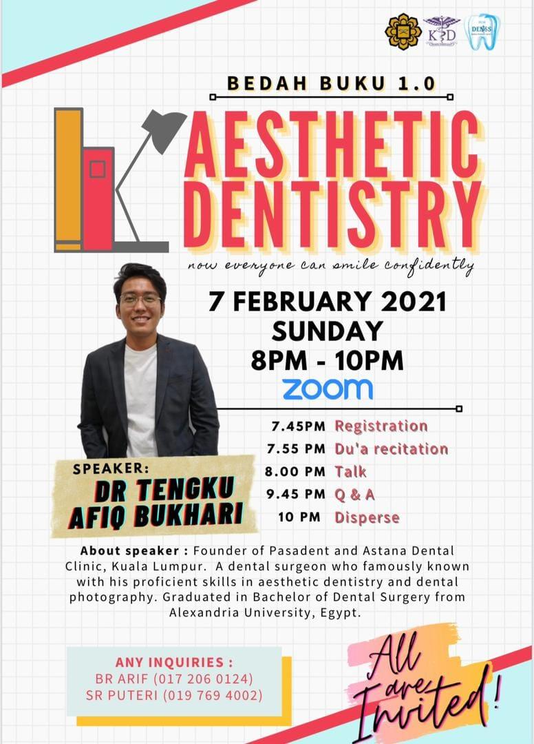 Bedah Buku 1.0: Aesthetic Dentistry