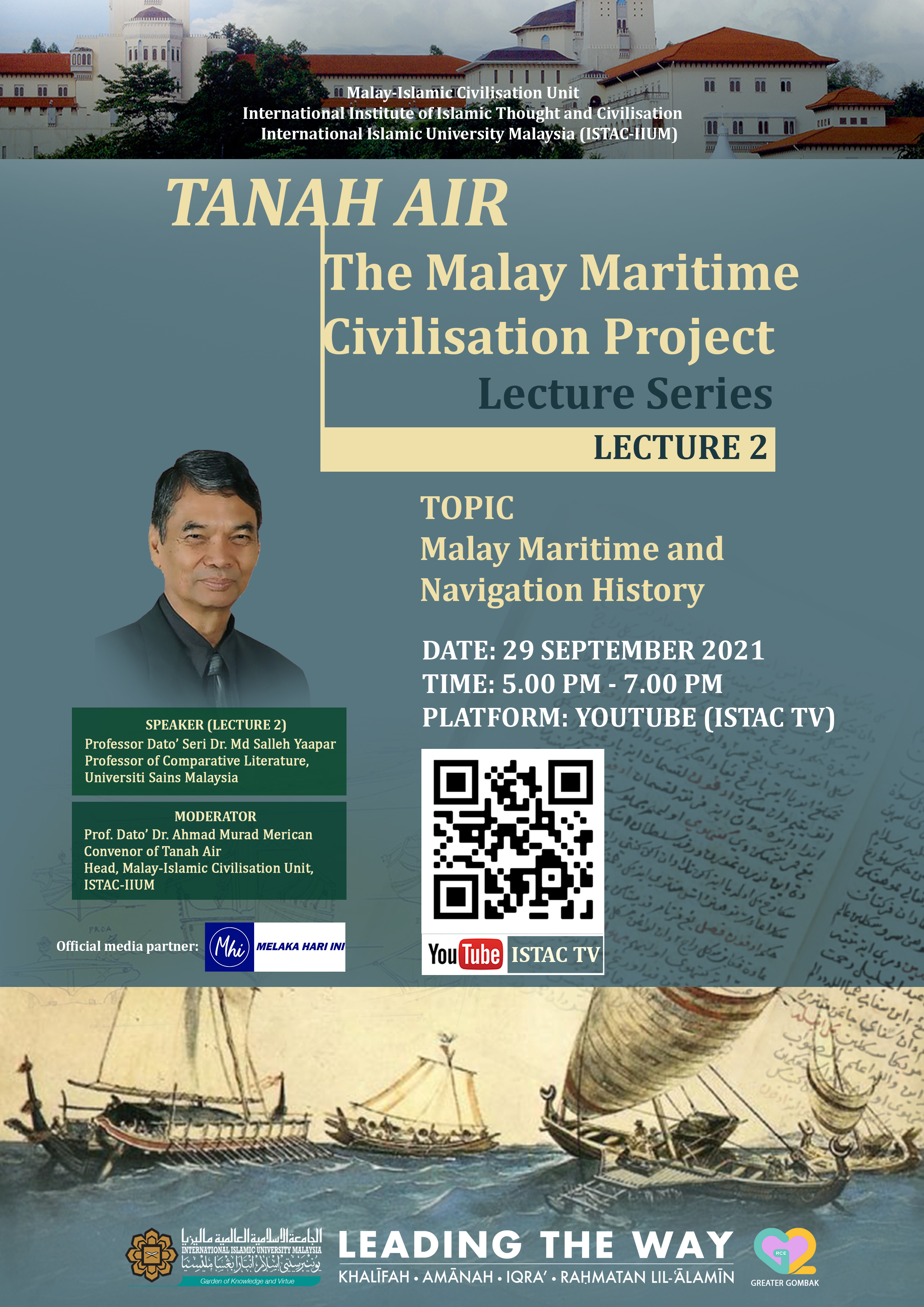 TANAH AIR: THE MALAY MARITIME CIVILISATION PROJECT_SECOND LECTURE