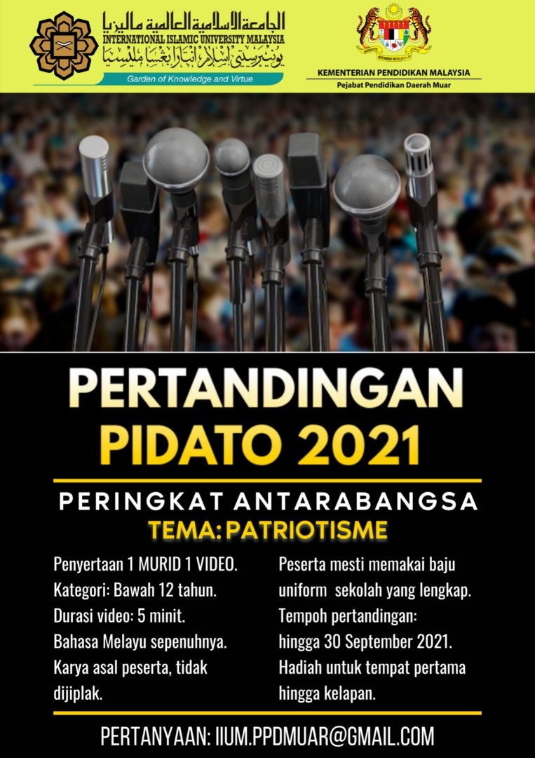 Pertandingan Pidato 2021 Peringkat Antarabangsa
