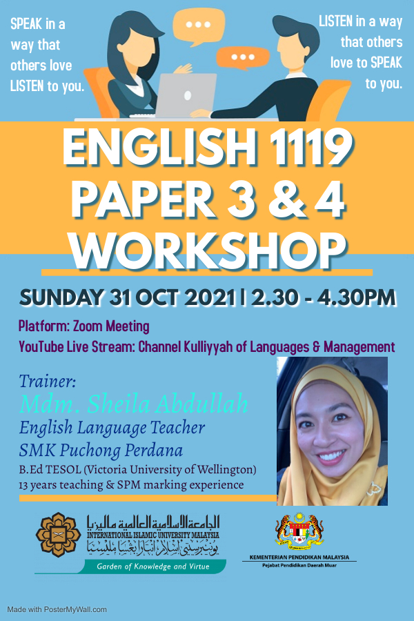 English 1119 Paper 3 & 4 Workshop