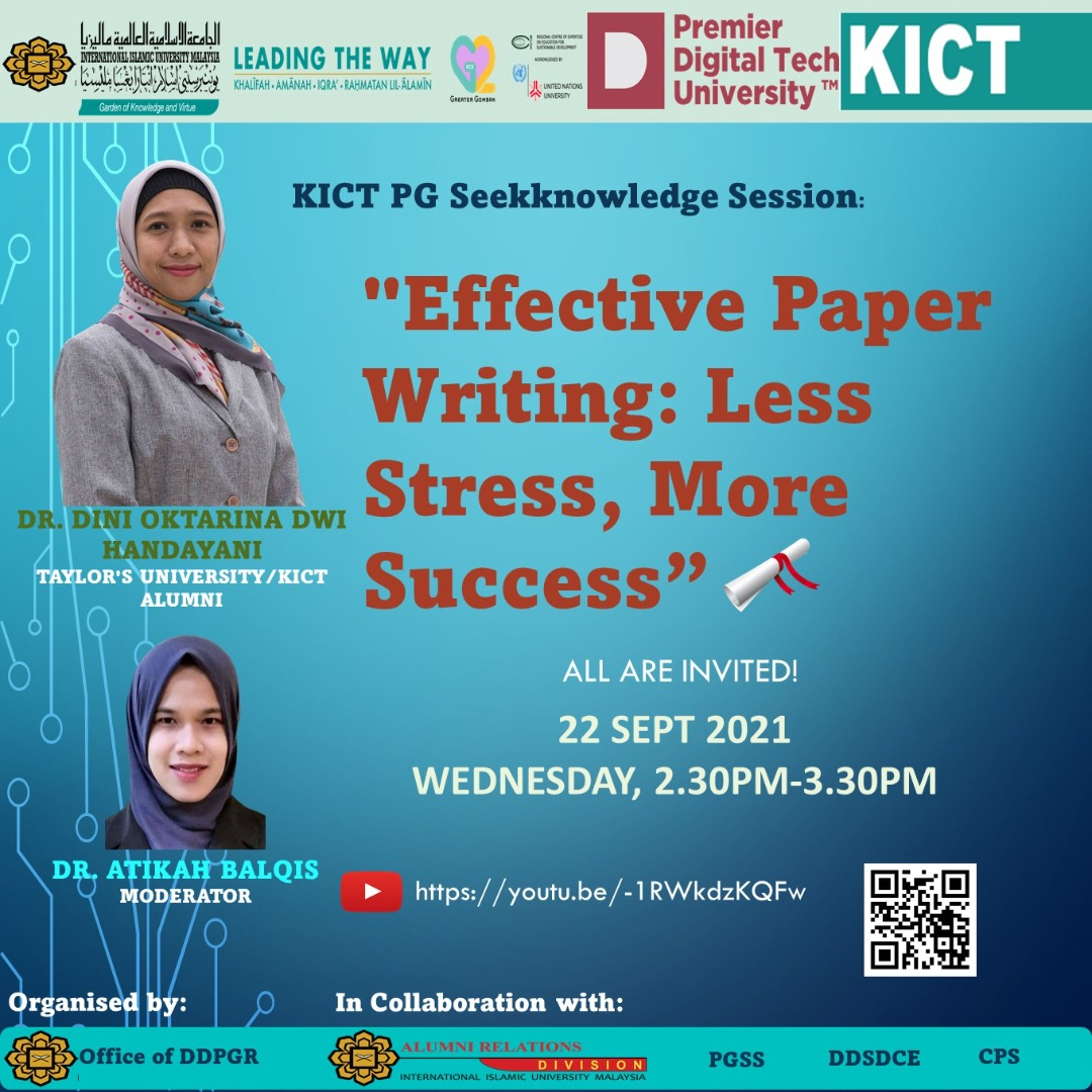 KICT Seekknowledge Session