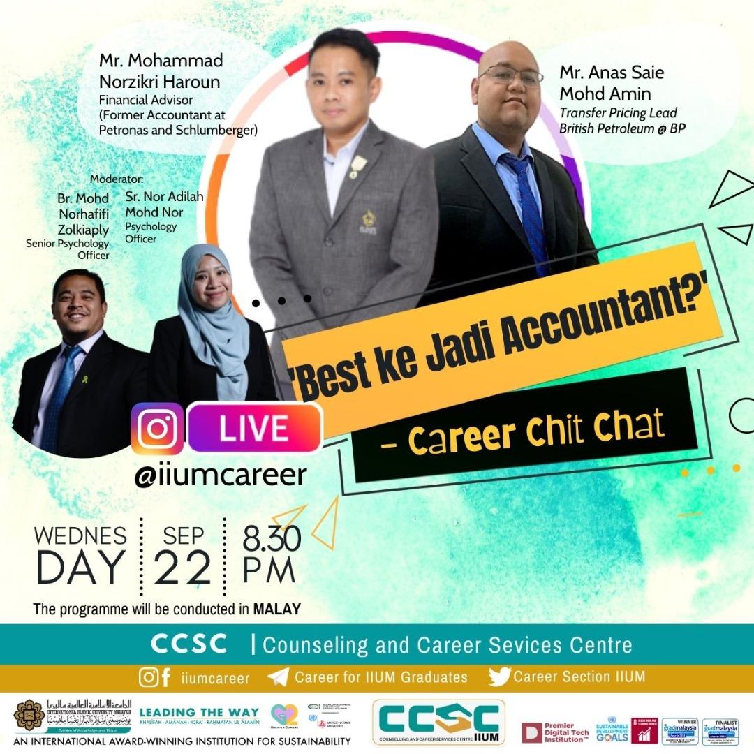 Career Chit-Chat : 'Best ke Jadi Accountant?'