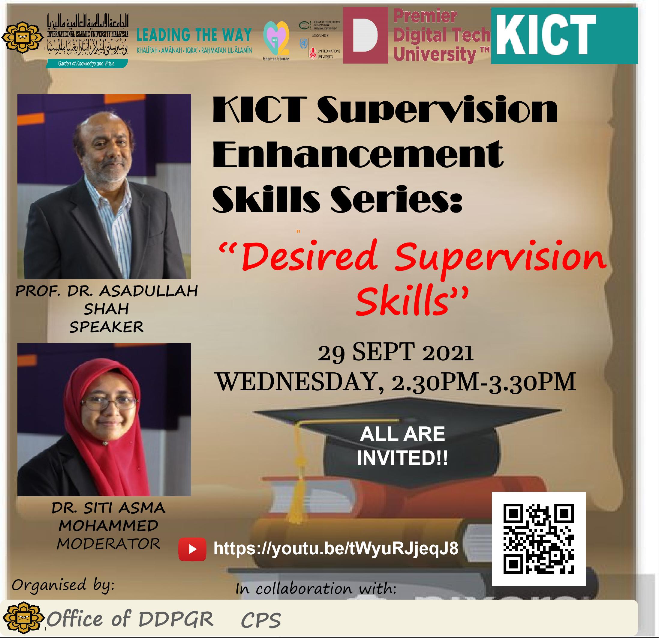 KICT Supervision Enhancement Skills Series