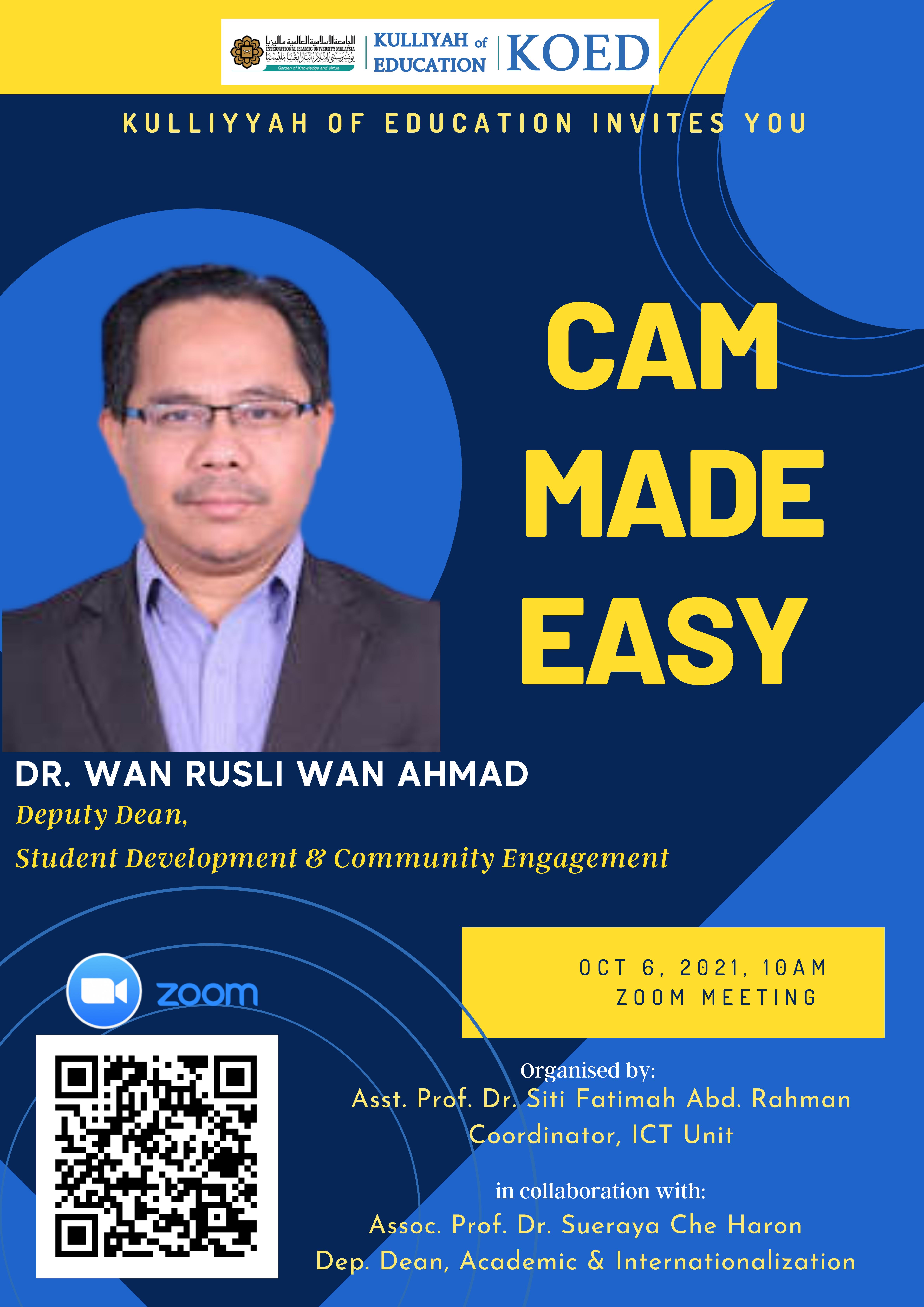 CAM Made Easy