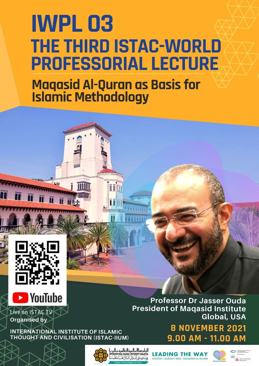 IWPL 03 - THE THIRD  ISTAC-WORLD PROFESSORIAL LECTURE
