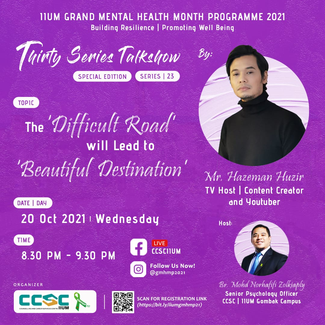 GMHMP 2021: THIRTY SERIES TALKSHOW [Special Edition : Series 23]