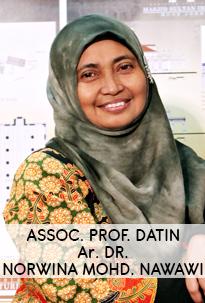 Assoc. Prof. Datin Ar. Dr. Norwina Mohd. Nawawi
